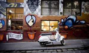 Movida Next Door, Hosier Lane, Melbourne, 2008